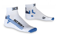 X-Socks Bike Racing Lady wit/blauw